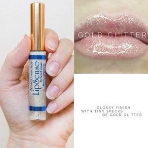 LAST CHANCE! Gold Glitter Gloss (TopCoat) Lipsense